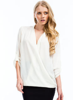 Twist 'N Shout Surplice Top