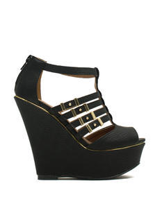 Slither Along Reptile Platform Wedges