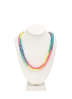Interwoven Cord Chain Necklace