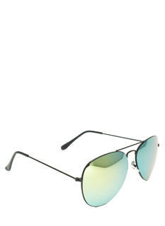 Reflector Lens Aviator Sunglasses