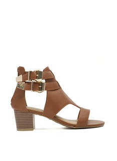 Double Up Cut-Out Heels