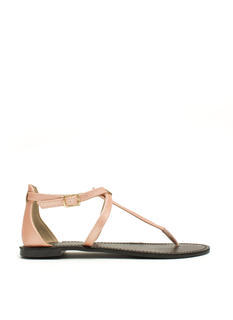 Hold Your Tongue Strappy Sandals