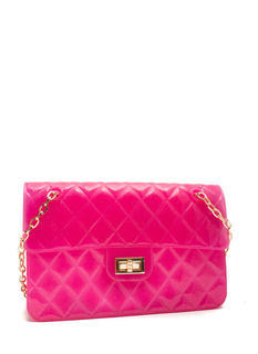 Glittery Quilted Jelly Purse