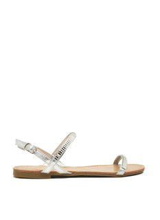 Hit The Bars Strappy Jeweled Sandals