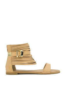 Single 'N Strappy Faux Leather Sandals