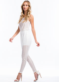 Come Sheer Now Jumpsuit