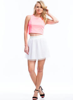 Nothing But Net Skater Skirt