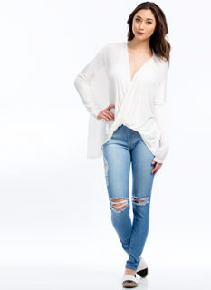 Knee Deep High-Waisted Jeans