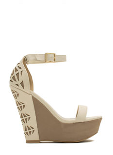Triangulated Cut-Out Wedges