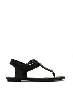 Shine Obsession Thong Sandals