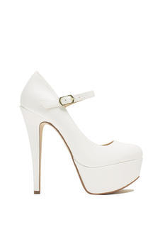 Go Mary Jane Faux Leather Platforms