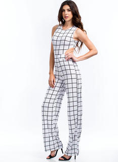 Let The Grid Times Roll Jumpsuit