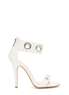 Single-Sole Grommet Heels