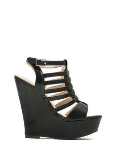 Good Luck Ladder Cut-Out Wedges