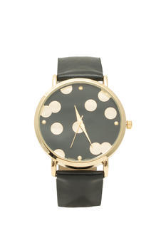 Scattered Polka Dot Boyfriend Watch