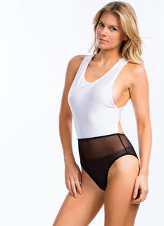 X-Posed Strappy Bodysuit