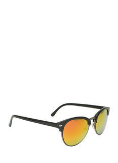 Top Accent Reflective Sunglasses