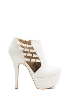 Battle Of Slits Platform Heels