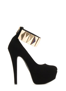 Tile Me Something Good Cuffed Heels