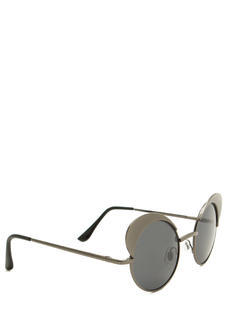 All Curves Rounded Cat Eye Sunglasses