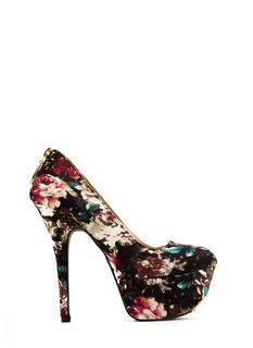 Zip You Into Shape Platform Heels