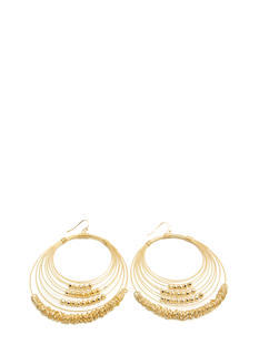 Concentric Beaded Earrings